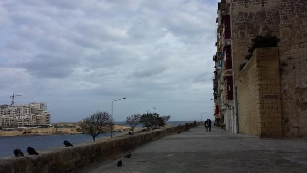 Malta in winter: Valletta